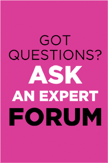 Ask An Expert Forum